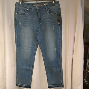 a8ee6680153 NWT women s straight leg ankle jeans size 14